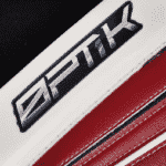 This was a screenshot of a photo of the latest OPTIK goalie gear from Brian's Custom Sports