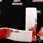 Eddie Lack Calgary Flames 2017 Brian's Custom Sports Gear