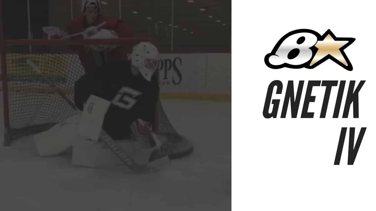 Brians GNETIK IV 4 Goalie Pad Review + Release   Goalie Coaches